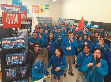Huelga Walmart Chile