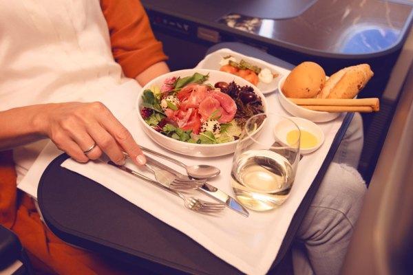 Concepto gastronómico del Premium Business de LATAM