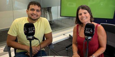 Maximiliano Valdés y Catalina Allendes en Radio Zero