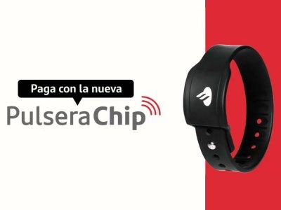 Pulsera Chip de Banco Santander Chile