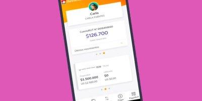 Aplicación móvil de BancoEstado