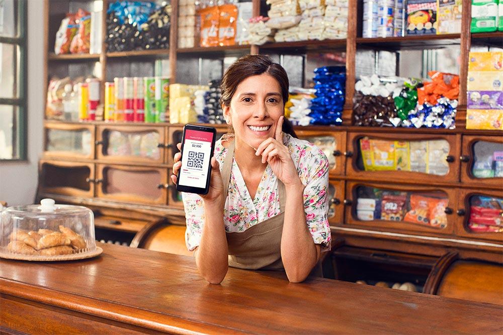 La billetera digital Onepay permite pagos en Cobro QR de Transbank