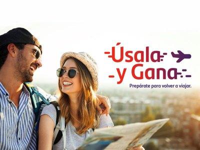 Úsala y Gana de Banco Santander en septiembre y octubre de 2020