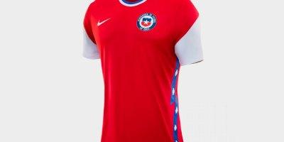 Camiseta Selección Chilena para canje Santander LATAM Pass
