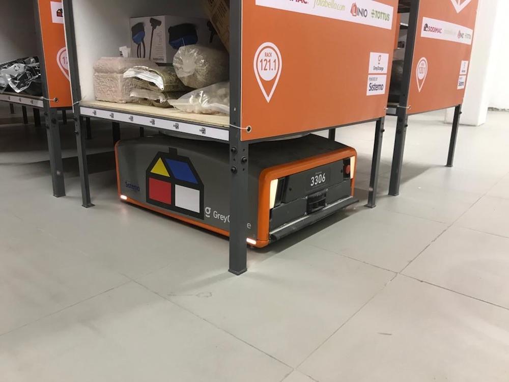 El nuevo robot de Sodimac