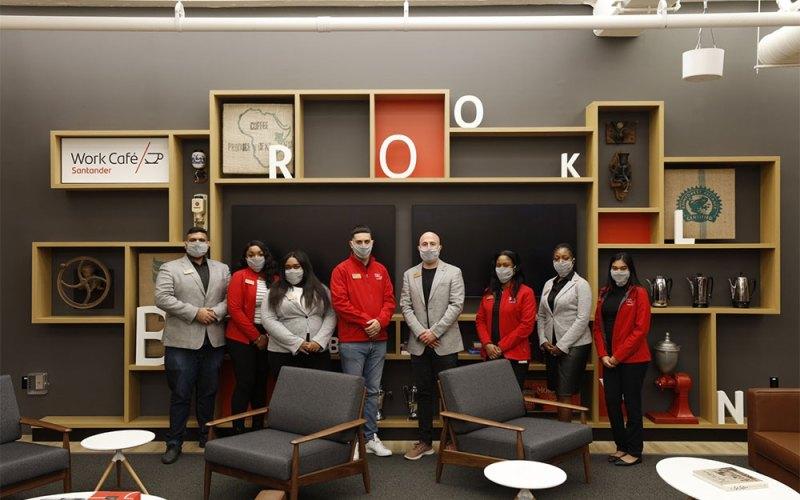 El nuevo Work Café de Banco Santander en Nueva York