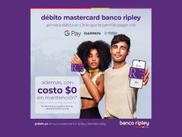 La tarjeta de débito Mastercard de Banco Ripley es compatible con Google Pay