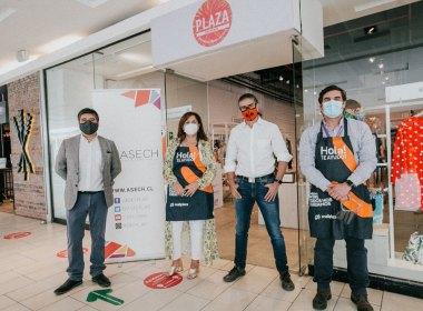 Tienda Plaza Emprende de Mallplaza, en alianza con Asech