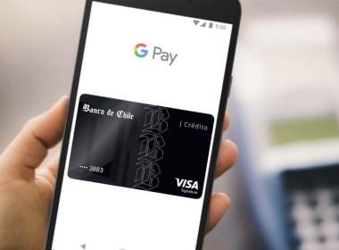Google Pay para tarjetas de crédito del Banco de Chile