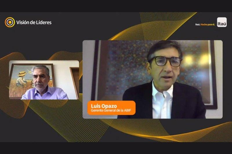 Luis Opazo, gerente general de la ABIF, se refirió al Fogape Reactiva.