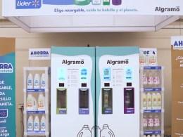 Las estaciones de carga de Algramo estarán ubicadas inicialmente en Lider Santa Amalia, Superbodega Acuenta de Av. Sur y Express de Lider La Dehesa.