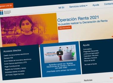 Proceso de Operación Renta 2021 del Servicio de Impuestos Internos (SII)