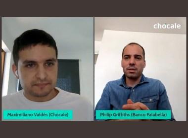 Philip Griffiths, gerente de Medios de Pago y Marketing de Banco Falabella, conversó con Chócale