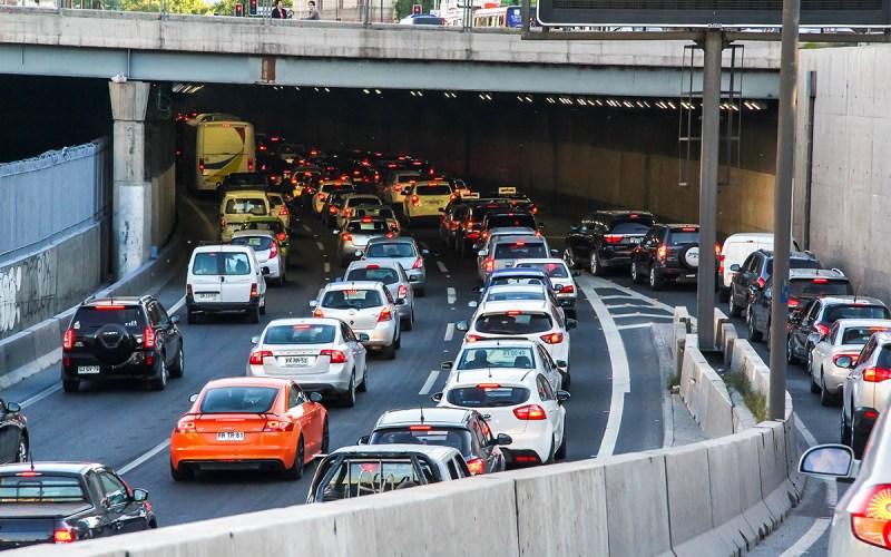 Restricción vehicular 2021 en Santiago