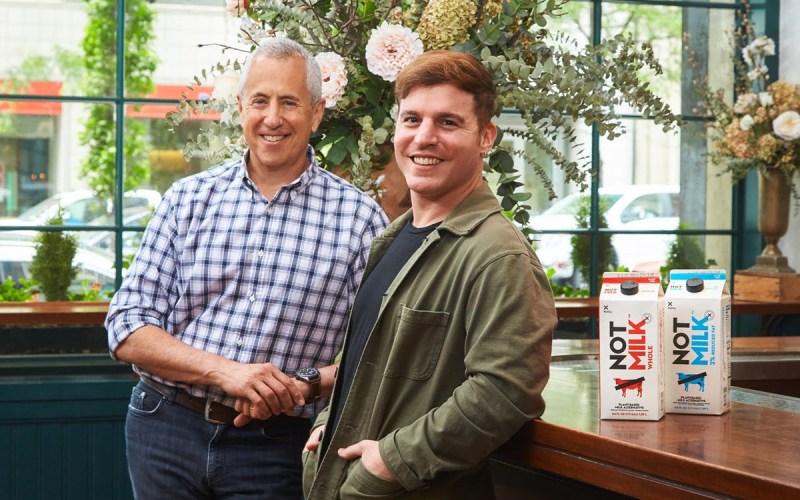 Danny Meyer, fundador de Shake Shack, y Matías Muchnick, fundador y CEO de NotCo.