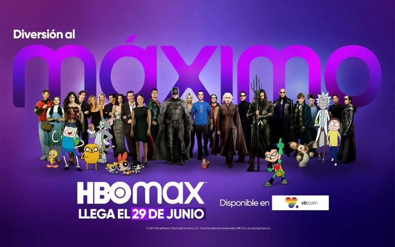 VTR anunció que ofrecerá HBO Max gratis para sus clientes de TV cable