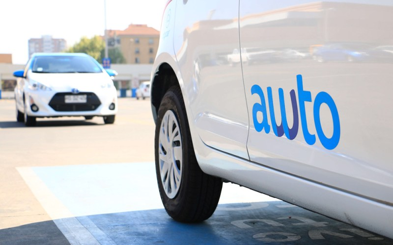 Awto es una de las plataformas de arriendos flexibles de vehículos por minuto u horas.