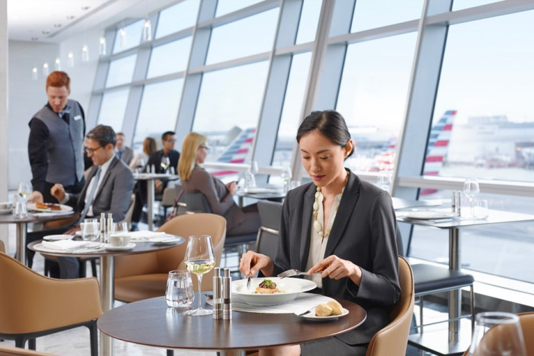Flagship Lounge de American Airlines