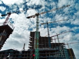 Construcción inmobiliaria de Evergrande
