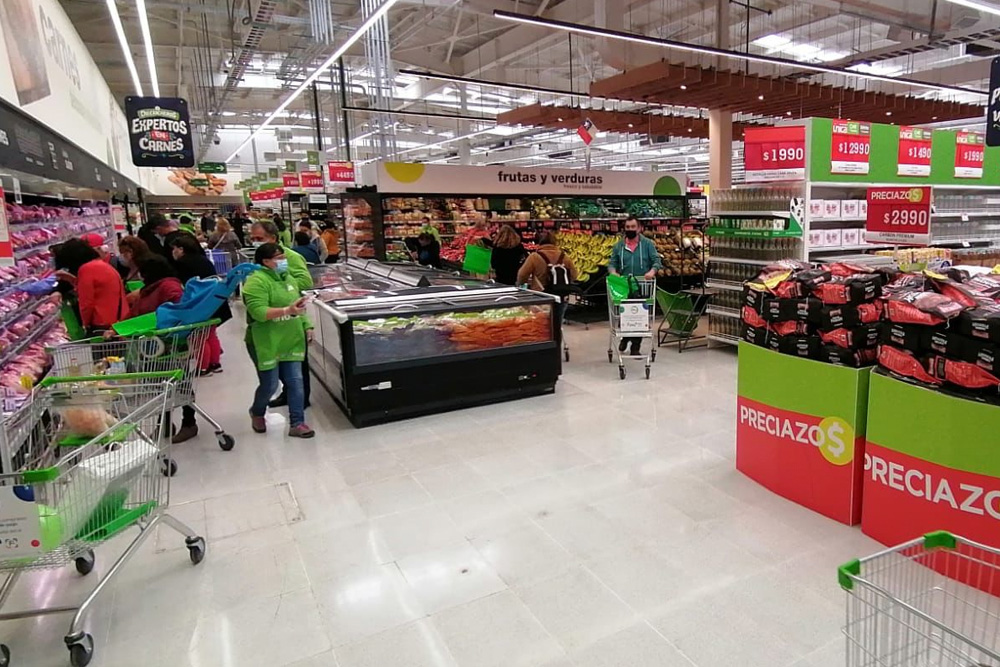 El nuevo supermercado Tottus de San Vicente de Tagua-Tagua.