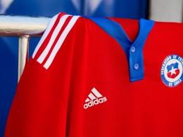 Nueva camiseta Adidas de Chile para La Roja