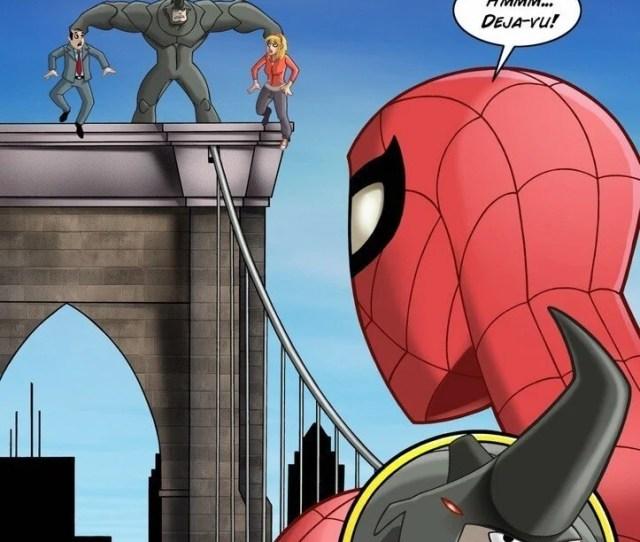 Spiderman Comic Xxx