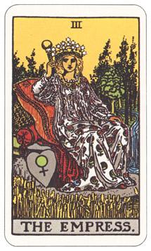女帝 タロットカード