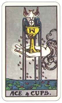 カップ1,タロットカード