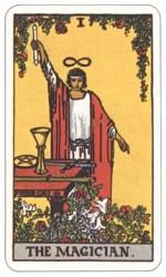 魔術師のタロットカード