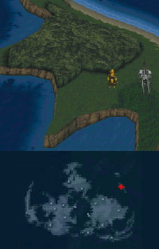 Goblin Island's location on the world map.