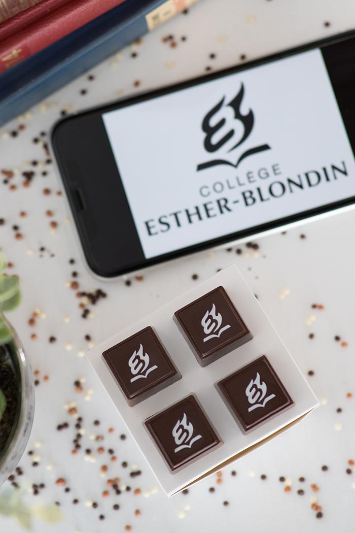 Cadeaux corpo - Collège Esther-Blondin - Choco Chocolat