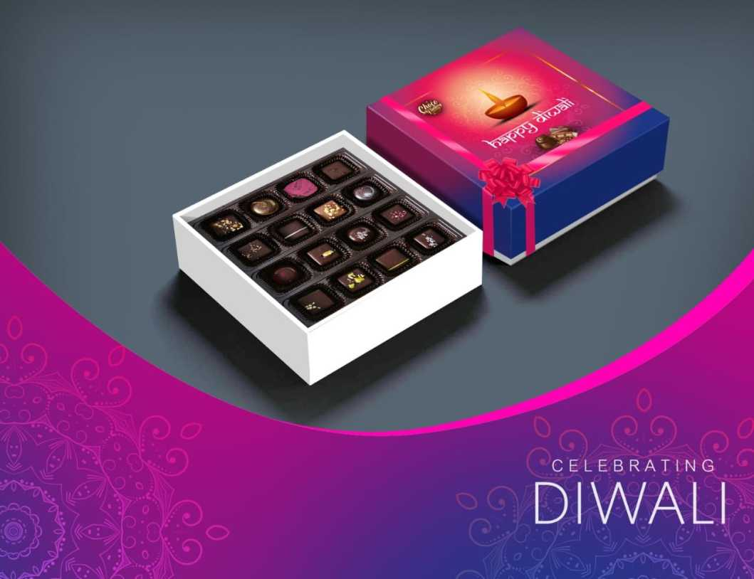 Handmade chocolate gift boxes for diwali, chocolate gift packs online shopping, chocolate gift boxes online