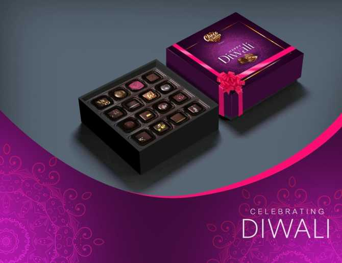 Homemade chocolate gift boxes for diwali, chocolate gift packs online shopping, chocolate gift boxes online