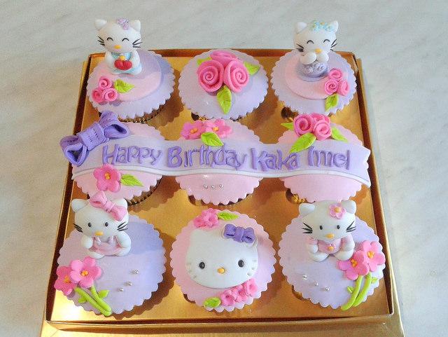 Kue Ulang Tahun Anak Perempuan Cupcakes Id