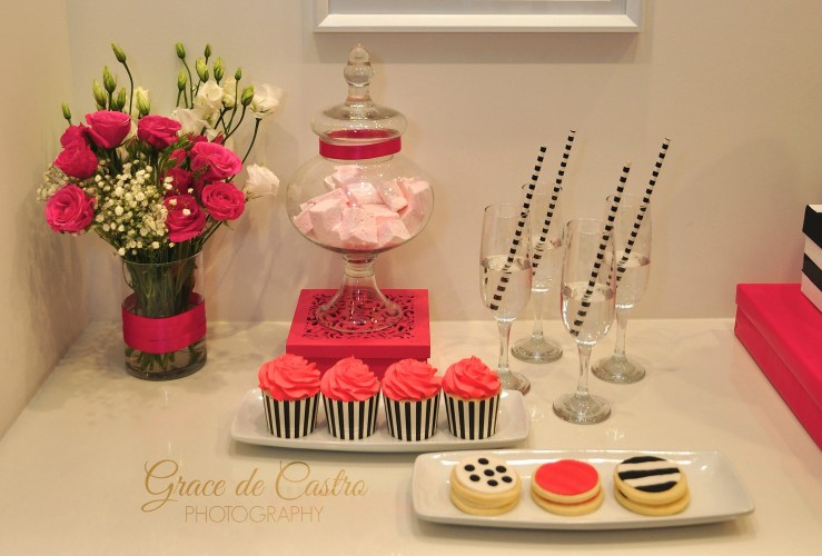 Kate Spade Inspired Sweet Table