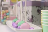 cake pops lavender and mint