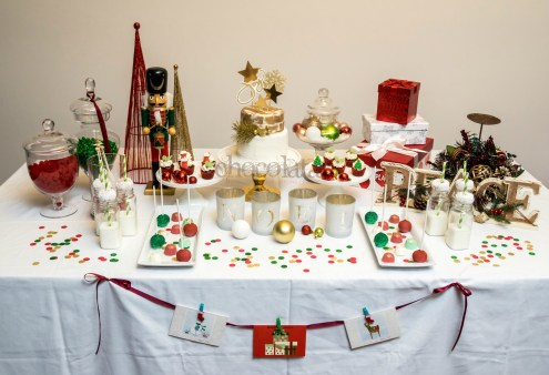 christmas sweet table 2015