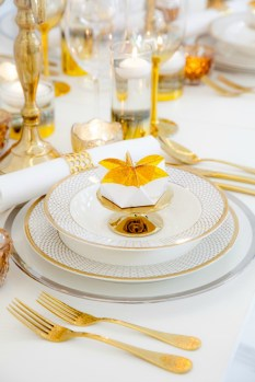white gold sweet table