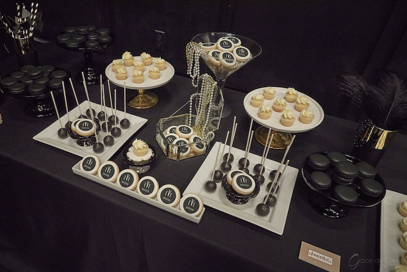 corporate event, montreal catering, dessert table