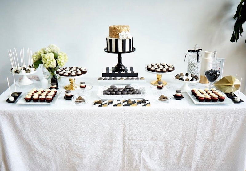 corporate event, montreal sweet table