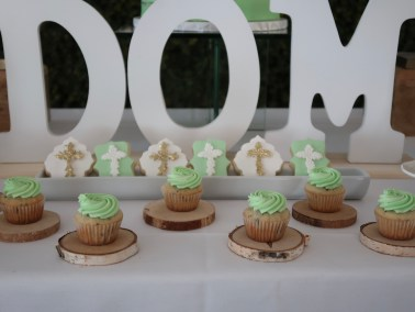 mint green and white baptism sweet table - 07