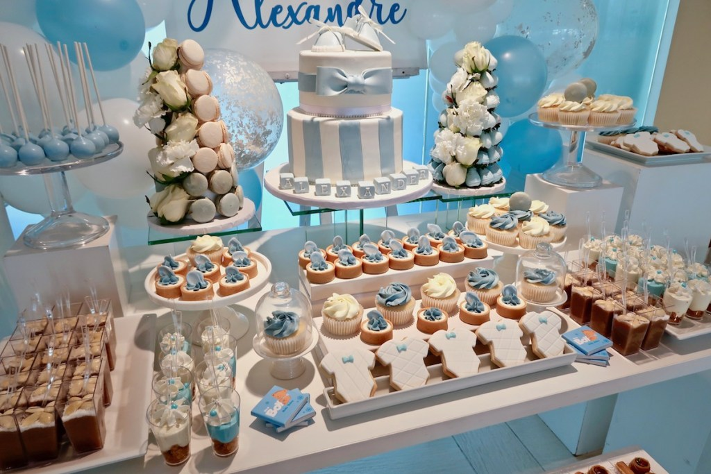 baby shower montreal, sweet table montreal, desserts montreal