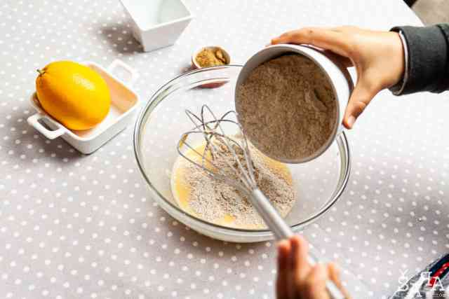 Mistura de farinha