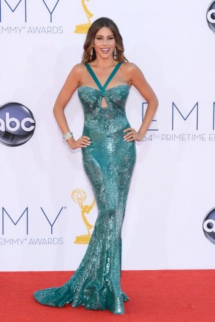 Las mejores vestidas de los premios Emmy 2012 (1/6)