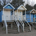 Closer look of the Beach Huts