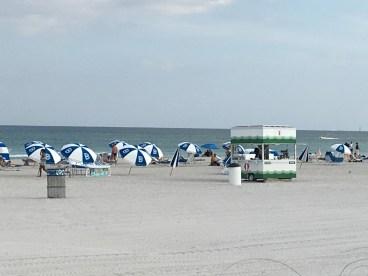 The Betsy beach area