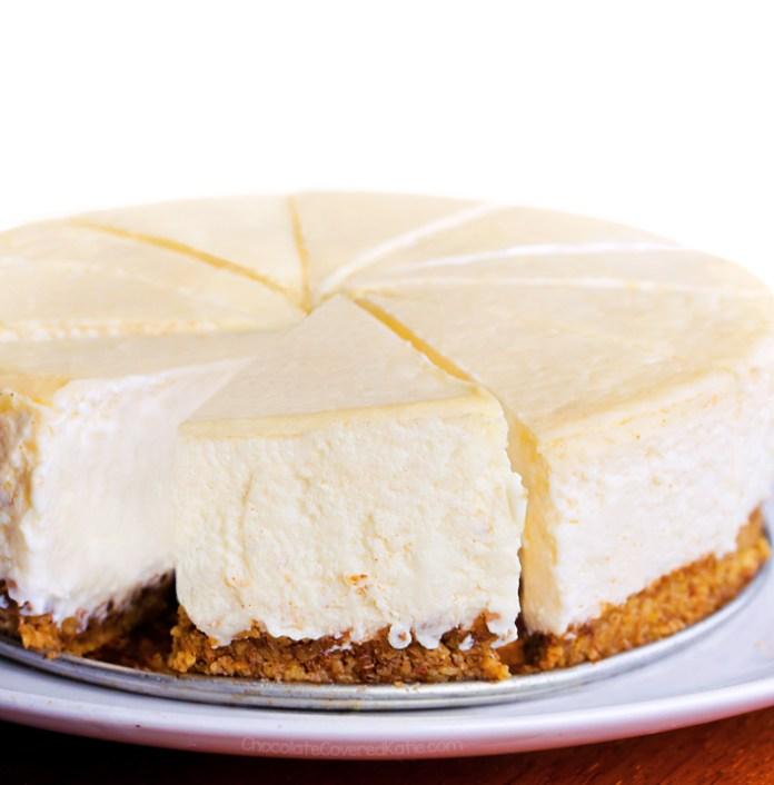 Keto Cheesecake Recipe (Sugar Free, Healthy)