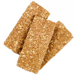 crappy granola bars!