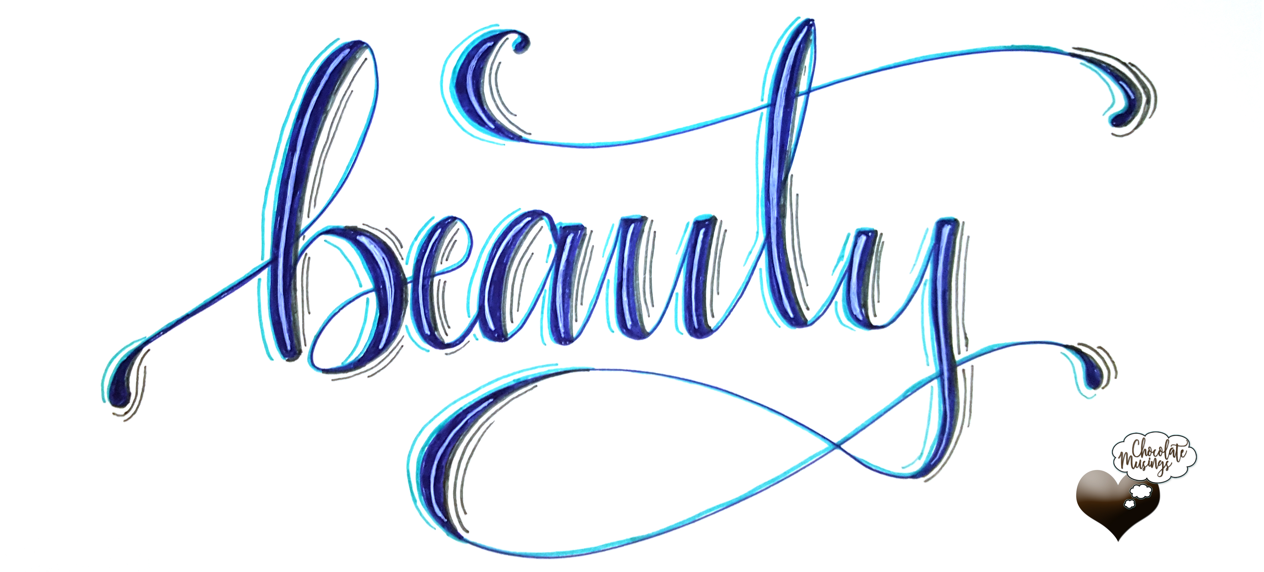 Faux Calligraphy, Modern Calligraphy, hand lettering, whatever it is called, there is a process and it is beautiful