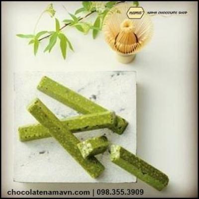 Nama Chocolate Maccha Bar - socola dạng thanh trà xanh chính hãng Nhật Bản